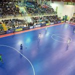partita calcio a 5 tra Italia e Argentina. Palazzetto Sold Out