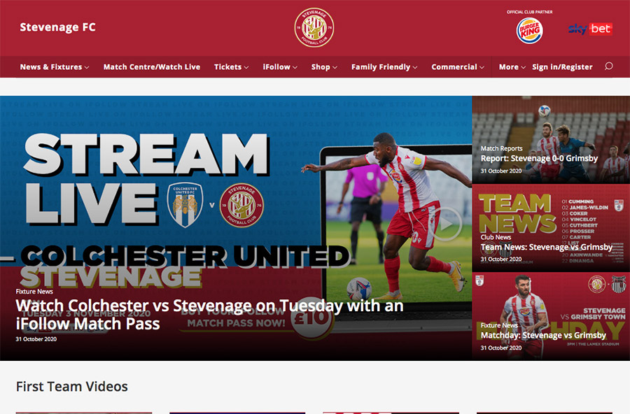 Marketing Stevenage FC